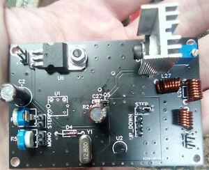 FM PLL TRANSMITTER  10Mhz - 600Mhz 1 WATT BROADCAST STL NEW