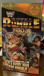 WWF Royal Rumble 1994 VHS
