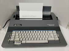 Vintage Smith Corona Typewriter Mark Xv Model 5p With Cover Manual Amp Ribbon