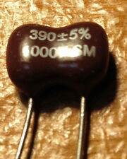 50 pcs 1000V 390pF Dipped Silver Mica Capacitors 390 pF 1KV 5% NEW