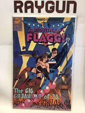 American Flagg (Vol 2) #4 VF+ 1st Print First Comics Howard Chaykin