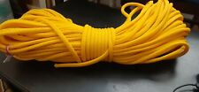 "3/8 "" x 200 ft. of Hollow Braid Polypropylene Rope. Yellow .Made in Usa"