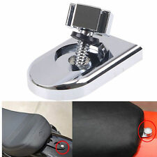 Seat Bolt Tab Screw Mount Knob Cover For Harley Fatboy Road King Softail Chrome