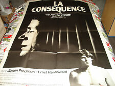 AFFICHE  PROCHNOW / PETERSEN / LA CONSEQUENCE, gay