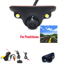 170° 2 LED Night Vision HD Car Front View Side View Blind Spot Camera Waterproof