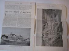 wtg 1927 Embassy Building Washington DC Edwin Lutyens PLAN ARTICLE Country Life