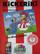 Programm 1996/97 SC Fortuna Köln - FC Gütersloh