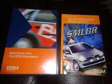 RARE DVD Motorshow LIVE The BSM Experience VAUXHALL Motoring RAC Driver Training