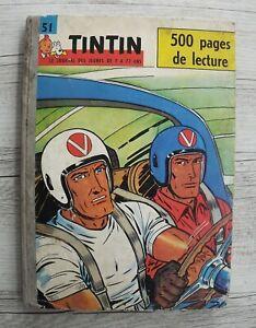 Recueil du journal Tintin N° 51 - 1961