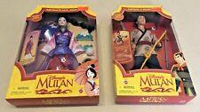 "Matchmaker Magic Mulan & Captain Li Shang from Disney's ""Mulan"" - NIB/Unopened!"