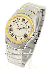 Santos Cartier Unisex Armbanduhren mit Datumsanzeige
