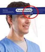 Visiera Protettive CE  SANITARIE -  Face Shield- Occhiali Sicurezza **