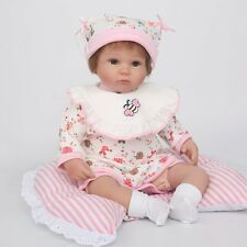 "16"" Hot Reborn Baby Dolls Lifelike Cheap Soft Vinyl Silicone Newborn Baby Gifts"