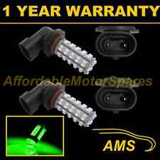 2X H10 GREEN 60 LED FRONT FOG SPOT LAMP LIGHT BULBS HIGH POWER XENON FF500601