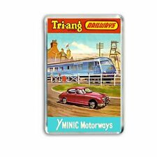 Retro - Triang Minic Motorways Blue Pullman Art -jumbo Fridge/ Locker Magnet