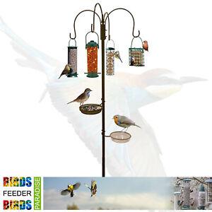 WILD BIRD FEEDING STATION HANGING FEEDERS WATER BATH TABLE SEED TRAY