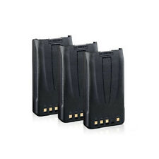 Battery for Kenwood Knb35Li (3-Pack) 2-Way Radio Battery