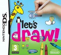 Nintendo DS Spiel - Let's Draw ENGLISCH mit OVP