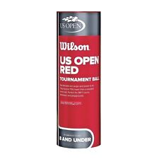 New listing Wilson US Open Red Tournament Ball - Stage 3 Ball - Ages 8 & Under