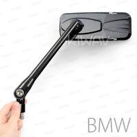 Magazi motorcycle mirrors aluminum modern black for BMW M10 x 1.5 adapters ε
