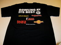 Coast Casinos Las Vegas BOWLING AT ITS BEST Sam's Town Orleans + T-Shirt New MED