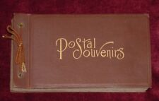 1908 Era Postcard Album Collection Rock Island Arsenal 37 Vintage Cards