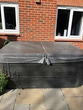 solid hot tub used