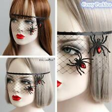 Unisex Vampire Witch Ghost Spider-Net Masks Halloween Costume Accessories