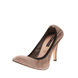 RRP €185 FRAU Leather Court Shoes Size 40 UK 7 US 10 Elasticated Made in Italy