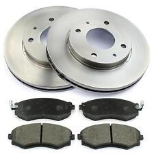 Bremsscheiben 257mm belüftet + Bremsbeläge vorne Hyundai Coupe RD Sonata IV EF