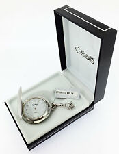 dial Modern Pocket Watch Pws95711, New Colibri Swiss Quartz Full Hunter,12 hour