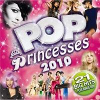 Various Artists : Pop Princesses 2010 CD Album with DVD 2 discs (2010)