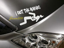 I Got The Munchies Decals Love Sushi Stickers Tools Banners 8X4.5 Funny JDM 4x4