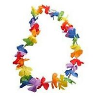 12-240 100cm Neon Hawaiian Garland Lei's - beach party,fancy dress,loot bags lot