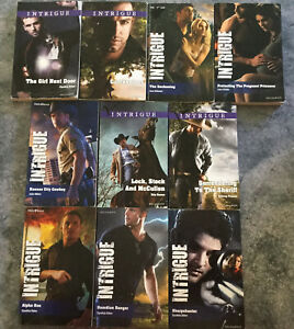 Lot of 10 intrigue Mills & Boon lot #2 Single Edition - Free Post For Additional