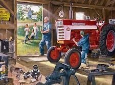 Jigsaw Puzzle Farm Life Tractor Farmall Red Power 1000 pieces NEW