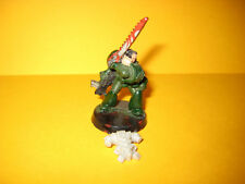 Warhammer 40k - Space Marines - Rogue Trader - Marine with Chain Sword + Bolter