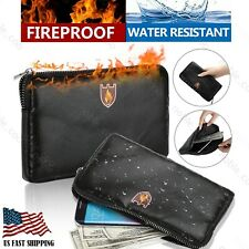 Fireproof Document Bag Waterproof Money Box Safe Cash File Folder Protect Pouch