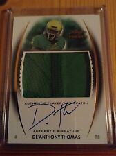 2014 leaf trinity autograph jersey De Anthony Thomas Oregon ducks
