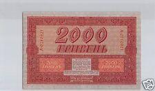 UKRAINE 2 000 HRYVEN 1918 PICK 25 QUALITE !!!