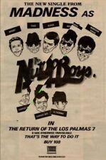 Madness UK Return of the Las Palmas 7 '45 advert 1981 MM-SWER