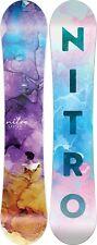Nitro Lectra Women's Snowboard 142 cm, All Mountain Directional, New 2022