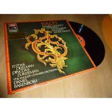 DANIEL BARENBOIM / ITZHAK PERLMAN double concerto & .. BACH - HMV Lp 1972