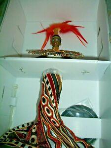 Bob Mackie Fantasy Goddess of Africa Barbie Limited Ed. New In box