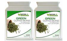 2 x 90 Green Coffee bean estratto CAPS pillola BOTTIGLIA Supplemento Dieta