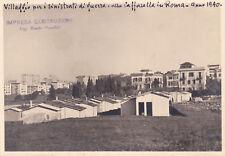 * ROMA - Caffarella, Villaggio per sinistrati di guerra
