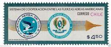 Chile 1982 #1027 Sistema de Cooperacion entre Fuerzas Armadas Americanas MNH