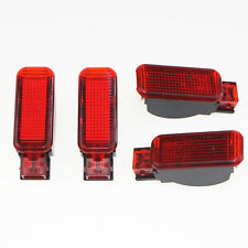 Qty 4 Red Door Warning Light 2 Pin For Audi A3 S3 A4 A5 A6 A7 A8 8KD 947 411