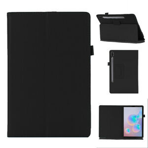 """For Samsung Galaxy Tab S7 S7+ 11"""" 12.4"""" Tablet Case Flip Cover Magnetic Leather"""