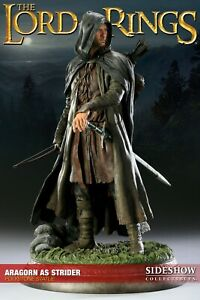 Sideshow EXCLUSIVE ARAGORN as STRIDER Lord of The Rings Figure Statue LOTR Rare!